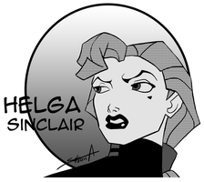 Helga Sinclair by TransparentGhost
