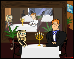 Total Drama Dinner- Oh no.... by Galactic-Red-Beauty
