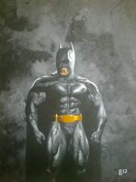 Caped Crusader. by BlackLabelArt