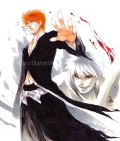 Bleach_2 SIDES by Ecthelian