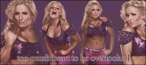 WWE: Natalya, Too Much Heart by KamenRiderReaper