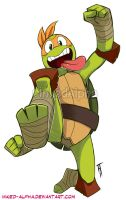 Michelangelo by Inked-Alpha