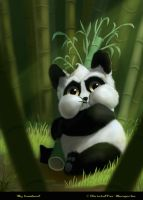 My bamboo! by klungart