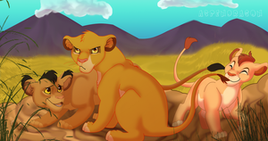 Big Brother Simba by Aspendragon