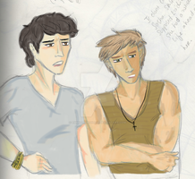 Charles and Marcus by EmmilliaBedillia
