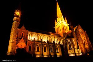 Sacred Heart Cathedral Bendigo by daniellepowell82