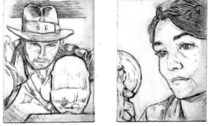 Sketch Cards IV by JasonShoemaker