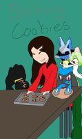 Baking Christmas Cookies by Light-girl
