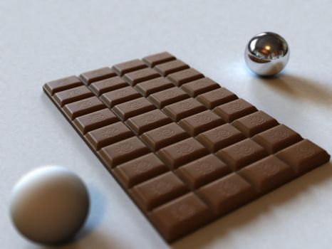 Lightwave Chocolate by Karmacop