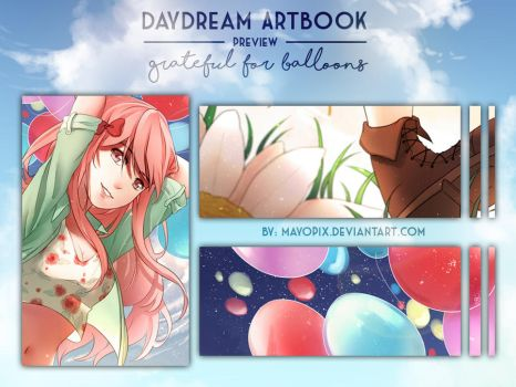 DayDream Artbook PREVIEW by Mayunnaize