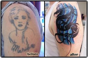 Tribal dragon cover up by truth-is-absolution