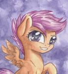 Scootaloo by The-Wizard-of-Art