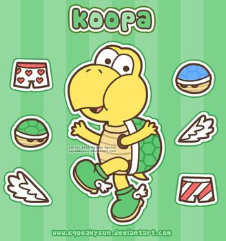 Koopa time by SqueakyToybox