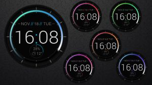 Patterned Clock HD for xwidget by jimking