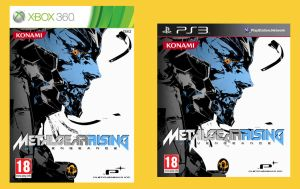 Metal Gear Rising - Alternative cover by Odinsdeath