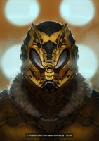 Wasp Helmet by BrotherOstavia
