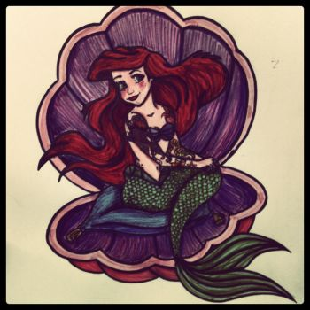 Ariel (instagramed) by BettyBoopEyes