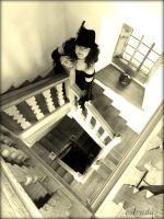 On The Stairs by Estruda