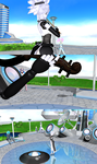 MMD Ilse plays the Violin by Xenosnake