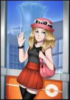 Pokemon - Trainer Serena by JacyA