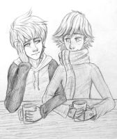 :Coffee Shop: by sjsaberfan