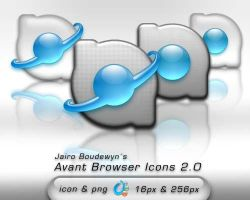 Avant Browser Icons 2 by weboso