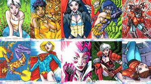 THE WOMEN OF LEGEND ARTIST PROOFS by stalk