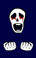 Crying Skull by Michaelthevampire7