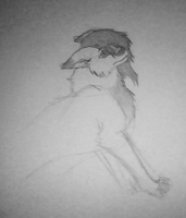 Unfinished Sketch by lonelycard