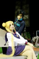 Usagi Tsukino and Seiya Kou- Sailor Moon Stars by SailorMappy