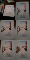 Watercolour Venice Process by JackMontegue