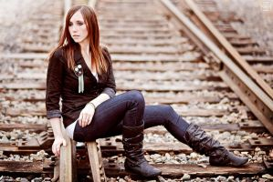Railroad by Stephanie-van-Rijn