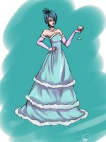 Ballroom Gown by kimikiwi48