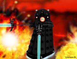 Fan Art Dalek Mortimer Ver2 by ChaosAlexander