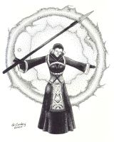 Qara in Ink by Quillmaster