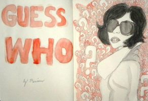 Guess Who - Moleskine by browneyedanachronism