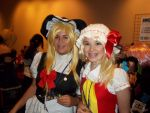 Marisa and Flandre Cosplay by Charizard632