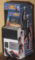 Space Invaders Arcade Cabinet by paperart