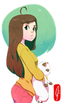 Bee and Puppycat by Acerbic450