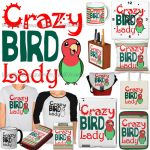 For Sale: Crazy bird lady by emmil