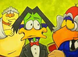 Count Duckula by TerribleToadQueen
