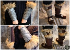 Skyrim steel armour by FarukuCostumes
