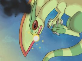 Flygon Attack! by FrightFox