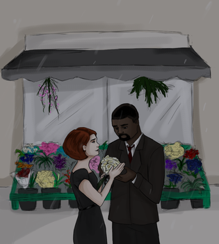 30 D OTP Challenge JohnxAlice, Day 8: Shopping by wolf-pirate55
