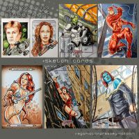 Sketch Cards by shaotemp