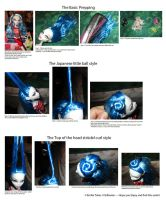 Monster High Hair Styling Tutorial by Dollinator