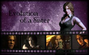 Evolution of a Sister by Isobel-Theroux