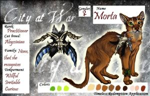 CaW character: Morta by Fluffysminion