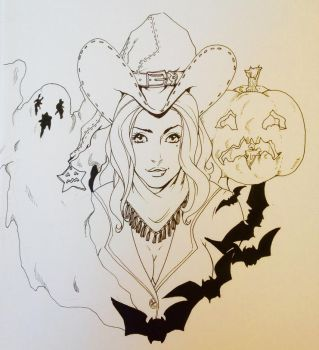 Texas witch by FOX-hime