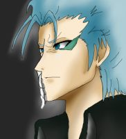 Grimmjow paint tool sai try by LessienLossehelin